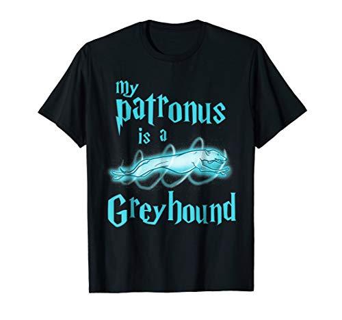 My Patronus Is A Greyhound Funny Cute Dog Lover T-Shirt