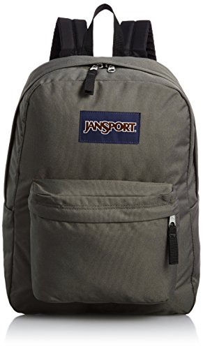 Jansport Superbreak Backpack (Forge Grey) (Best Get Home Bag Backpack)
