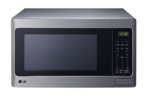 LG LCRT1513ST Countertop Microwave Oven, 1100-watt, Stainless Steel