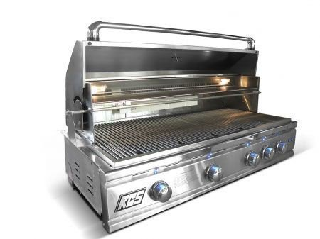 RCS Grills 42in Cutlass Pro Series Natural Gas Grill with LED Lights