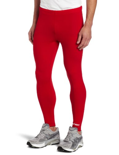 ASICS Team Medley tight, Red, Large