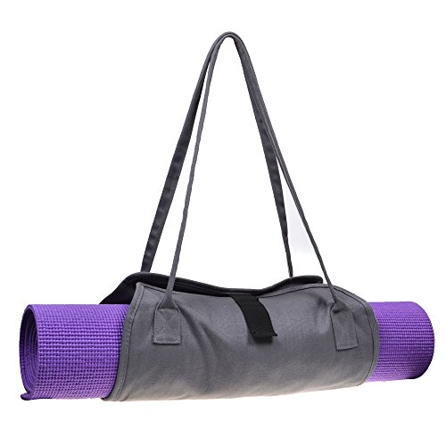 Cosmos Exercise Yoga Mat Carrying Shoulder Strap Bag with Internal and Outside Storge Pocket (Yoga Mat is NOT Included) by Cosmos (Image #2)