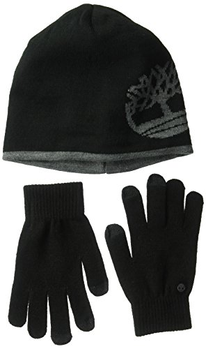 Timberland Men's Cold Weather Gift Set, Black, one Size by Timberland