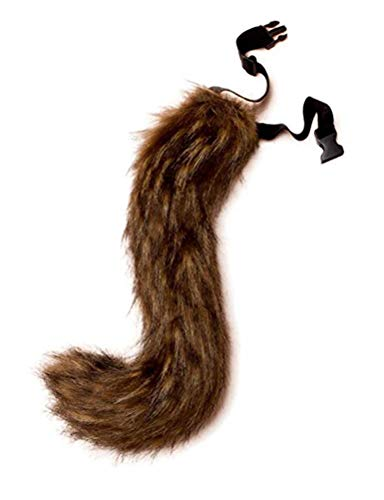 ANBI Faux Fur Tail and Ear for Adult/Teen Cosplay Halloween Party Costume -