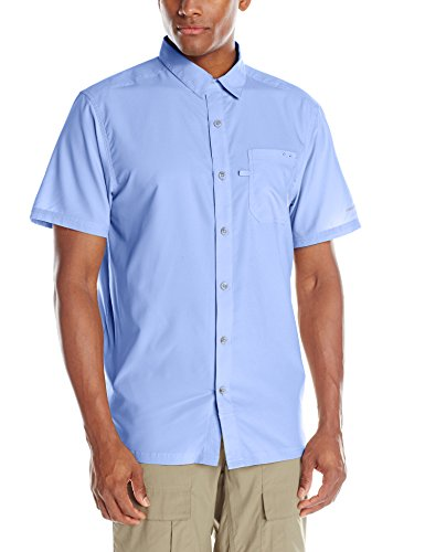 Columbia Slack Tide Camp Shirt, White Cap, Medium