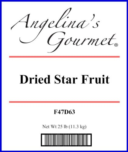 Star Fruit - 25 Lb Bag / Box Each by Woodland Ingredients (Image #1)