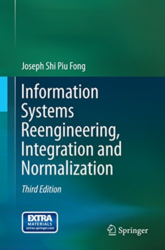 Download Information Systems Reengineering, Integration and Normalization Pdf