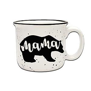 White Mama Bear Coffee Mug