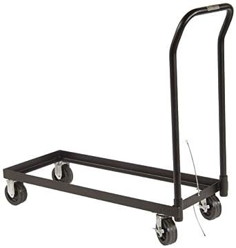 "Justrite 84001 Cabinet Rolling Cart, Welded Heavy Duty Steel, 500lbs Capacity, 43-1/4"" Width x 42"" Height x 18-1/4"" Depth"