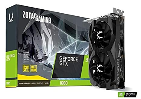 PC GAMING 1000 EURO SCHEDA VIDEO GTX1660 zotac