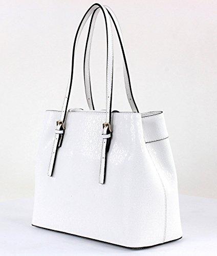 Agenda De Salidas Para La Venta Guess Delaney borsa tote 39 cm White (Bianco) Descuentos De Venta Baratos 3lrdPb