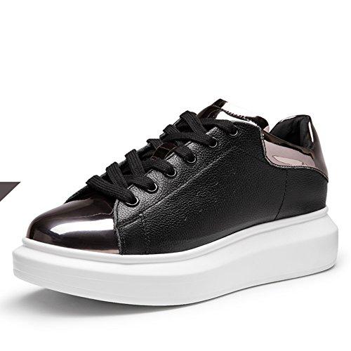 Zapatos de primavera/Color que empareja los zapatos ocasionales/Zapatos del deporte/ zapatillas de suela gruesa/Zapatos del tablero B