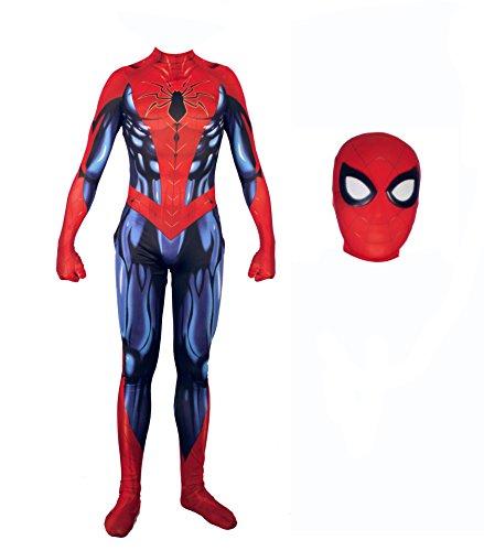 Alwoe Cosplay Costumes Halloween Lycra Spandex Unisex 3D Style]()