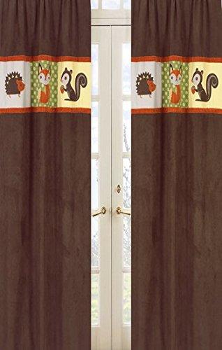 Sweet Jojo Designs 2-Piece Forest Friends Window Treatment Panels from Sweet Jojo Designs