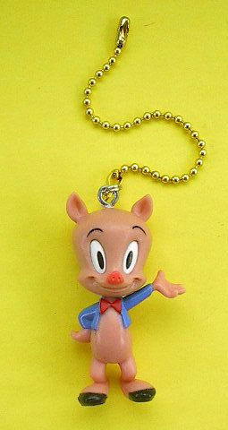 Looney Toons Tunes PORKY PIG Ceiling Fan Light Pull