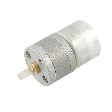 Amazon.com: eDealMax 25 mm Diámetro de caja de cambios 25GA 150 RPM 50MA 3V DC Motorreductor: Automotive