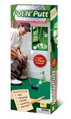 Smart TV Solutions Pot n Putt Bathroom Golf Putting Game