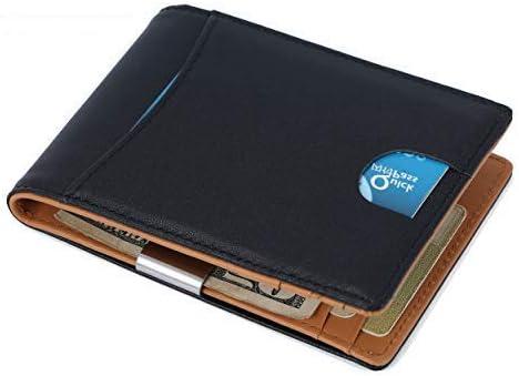Cartera RFID para Hombre, Billetera RFID Monedero para Hombre y Seguro Billetera Delgada, Capacidad para Múltiples Tarjetas, Protector de Tarjeta de Crédito: Amazon.es: Equipaje