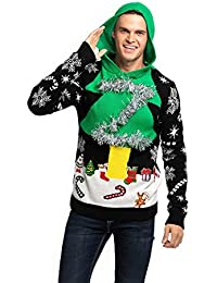2018 Designs Range Unisex Mens Knit Christmas Ugly Sweater Funny Santa Reindeer Pullover