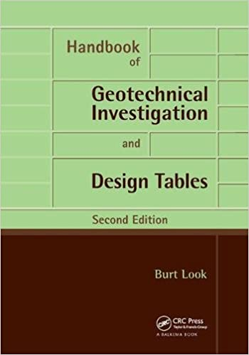 Handbook of Geotechnical Investigation and Design Tables: Second Edition