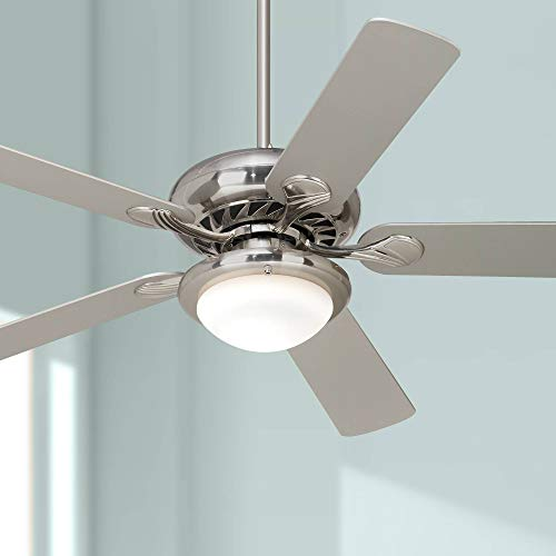 Vieja Casa Ceiling Fan Brushed - 52