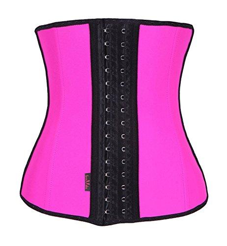 Waist Corset Body Shaper (Pink) - 2