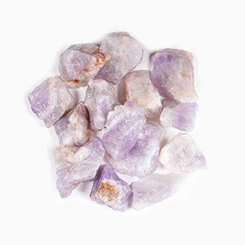 picture of Crystal Allies 1 Pound Bulk Rough Amethyst Reiki Crystal Healing