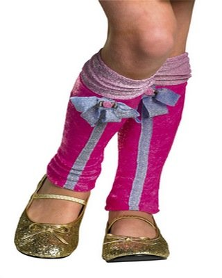 Winx Club Costumes - Winx Club Flora Leg Covers, Pink/Purple, One Size