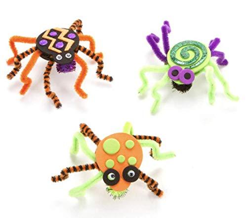 Halloween Spider Craft Kit- Makes 15