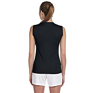 New Balance Ladies Ndurance Athletic V-Neck Workout T-Shirt, XS, BLACK