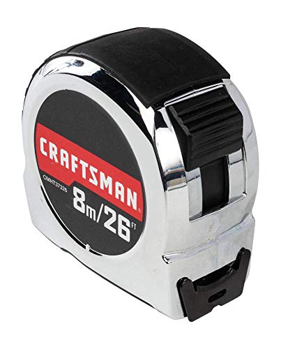 CRAFTSMAN-Tape-Measure-Chrome-Classic-8-Meter-CMHT37326S