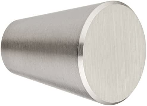 Siro Designs SD44-276 Brushed Cabinet Knob, 0.80-Inch, Stainless Steel