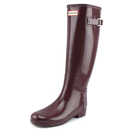 Hunter Dulse Gloss Boots Rubber Refined Waterproof Winter Womens Snow Original CwO6tqd