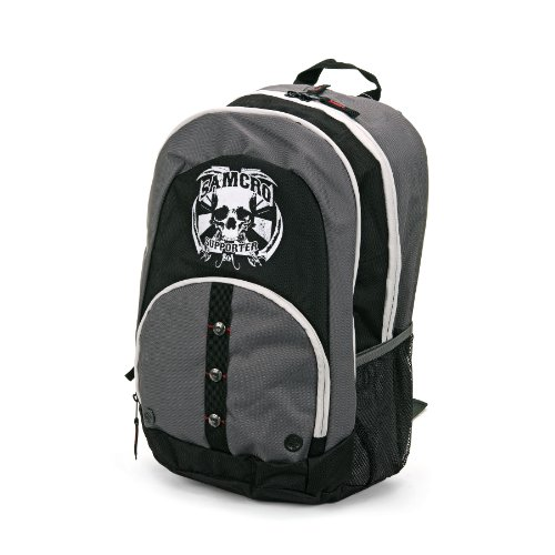 Sons Of Anarchy Mens Soa Supporter Backpack  Black  One Size