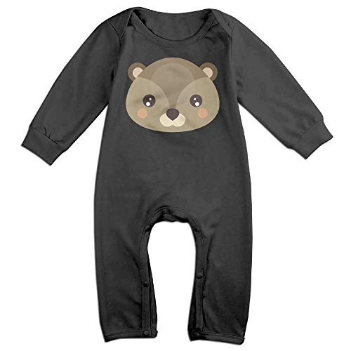 TYLER DEAN Newborn Baby Long Sleeved Coveralls Cute Beaver Baby Rompers -