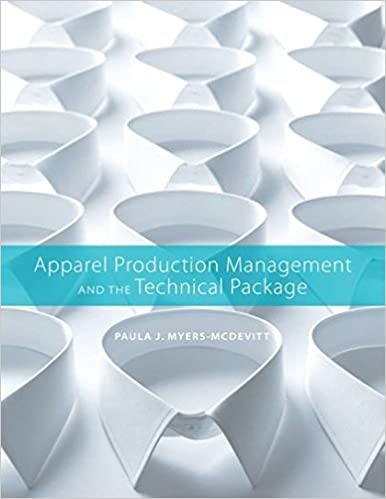 Apparel production management and the technical package paula j apparel production management and the technical package paula j myers mcdevitt 9781563678691 amazon books fandeluxe Images