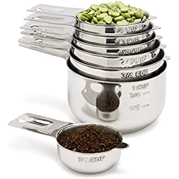 OXO 11132000 Good Grips Stainless Steel Measuring Cups