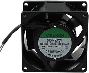 SUNON CY 203 - Ventilador de PC (Ventilador, Negro, 220-240 ...