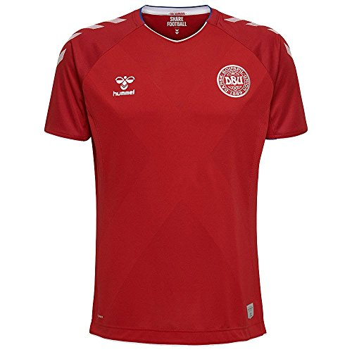 Official Denmark DBU World Cup Jersey (Small, Scarlet)