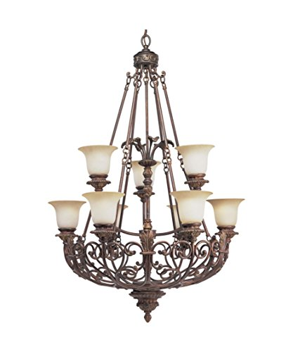 thomasville-lighting-p4536-75-messina-9-light-chandelier-in-aged-mahogany-with-sepia-haze-glass