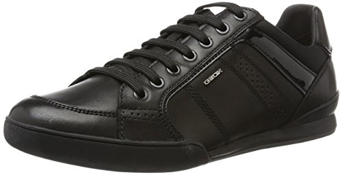Geox Mens Mens Geox Sneaker Kristof Black 6 M Fashion qCdExrd