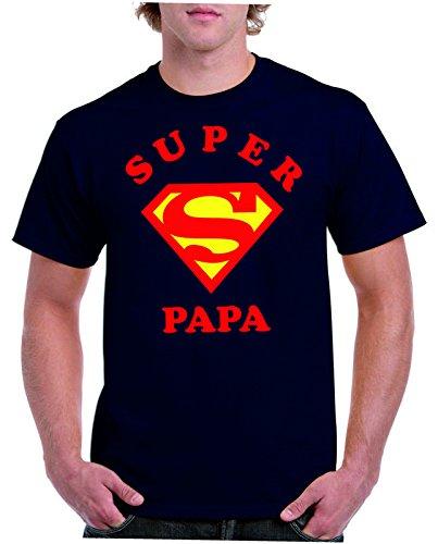 Camiseta TXL Papa Superheroe 3cgmfjnFgc