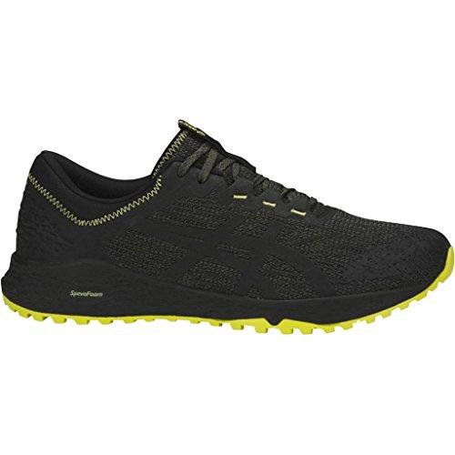 Asics Gecko XT, Hombre, T828N.8116, Black - Yellow - Grey, 45
