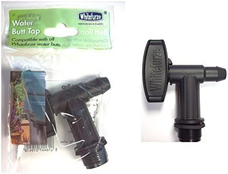 """Water Butt Replacement Tap Universal Fitting /¾/"""" BSP Hoselock Snap Fit Compatible"""