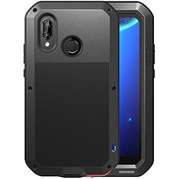 Huawei P20 Lite Case, Love mei Full Body Outdoor Shockproof Heavy Duty Hybrid Aluminum Metal Armor Dirtproof Cover Shell for HUAWEI nova 3e 5.84 inch ...