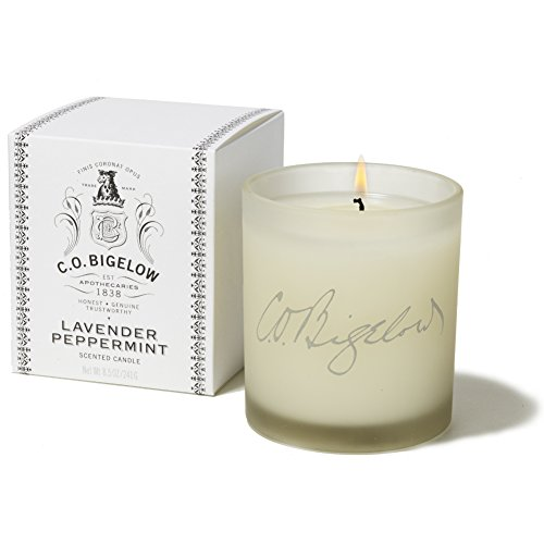 C. O. Bigelow Luxury Candle Collection, Lavender Peppermint
