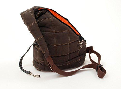 Petego Messenger Bag Pet Carrier, Brown