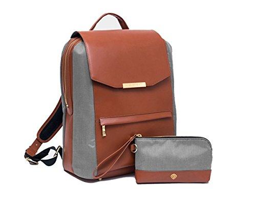 P.MAI Valletta Backpack & Wristlet, Cognac