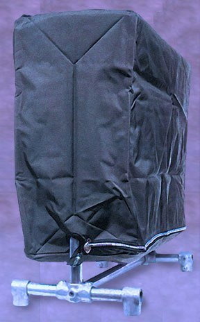 Tuva Zippered Garment Clothing Rack Cover, Waterproof Nyl...