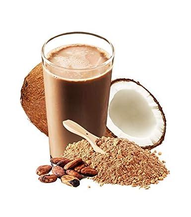 Chocolate Collagen Peptides Made with Coconut Milk Powder - 5 lb - Delicious Taste + Zero Sugar - Hydrolyzed Collagen + Organic Cacao + Coconut Milk Powder - Gluten Free & Non GMO